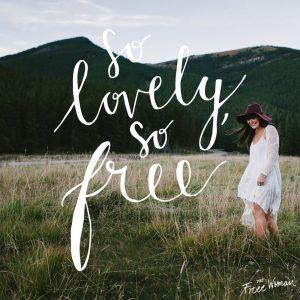 The Free Woman - v1