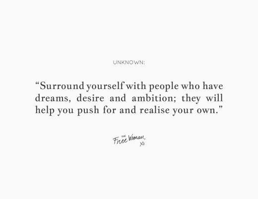 Weekly Thought | thefreewoman.com
