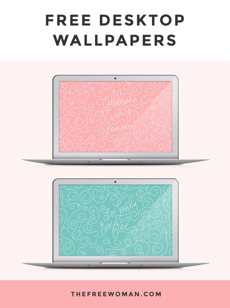 {Free} Desktop & iPhone Wallpapers // Celebrate Every Season. | thefreewoman.com