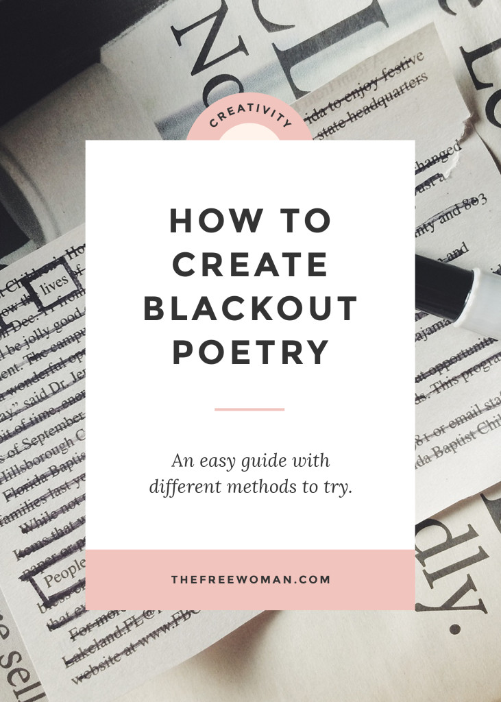 how to write free verse poems