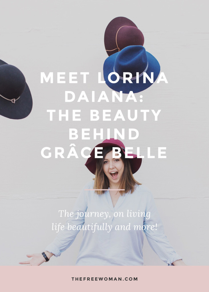 Meet Lorina Daiana: The Beauty Behind Grace Belle [An Interview]