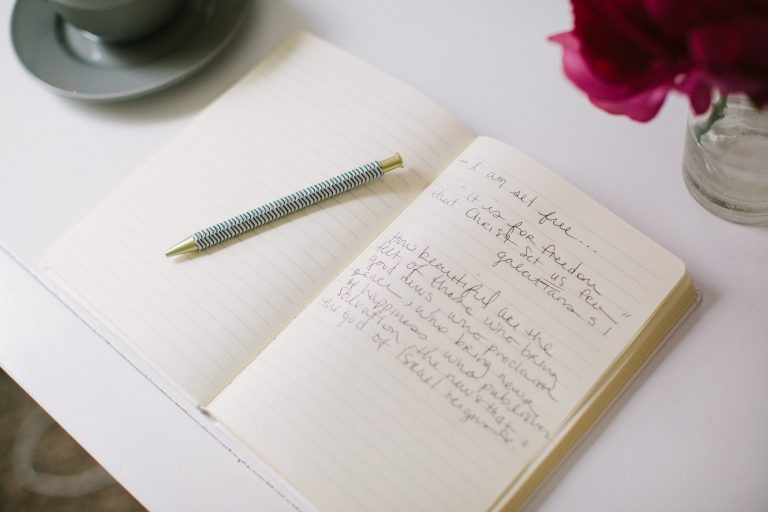 Finding Freedom In Journaling