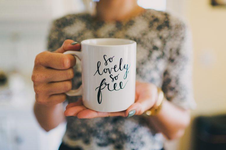 {Giveaway} 'So Lovely, So Free' Mug