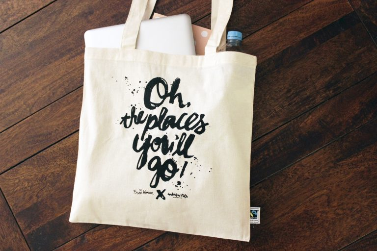 """{New Product} """"Oh, the places you'll go!"""" Tote Bag"""