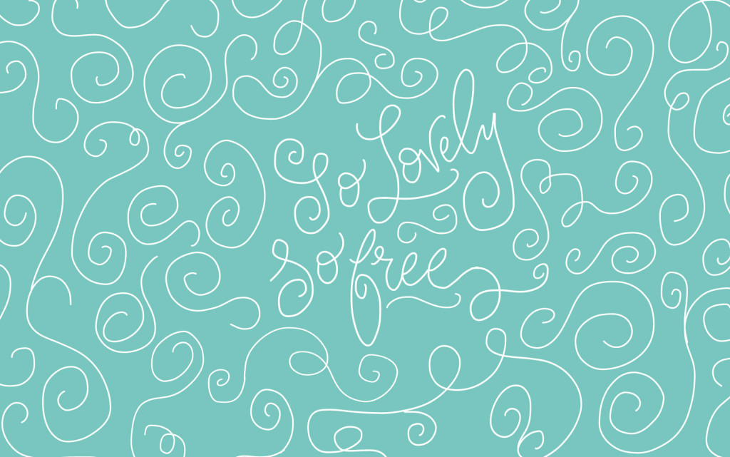 {Free} Desktop & iPhone Wallpapers // So Lovely, So Free. | thefreewoman.com
