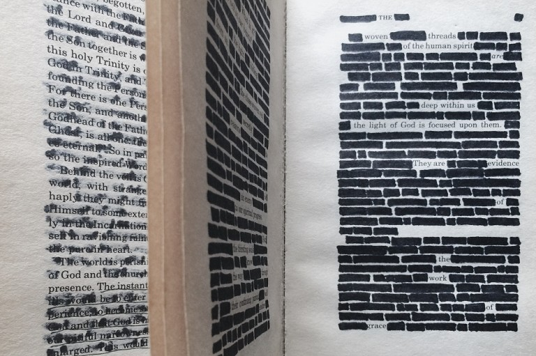 How To Create Blackout Poetry