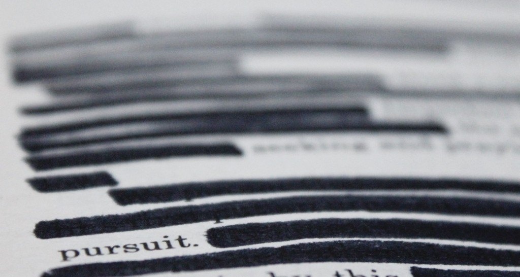 How to Create Blackout Poetry | thefreewoman.com