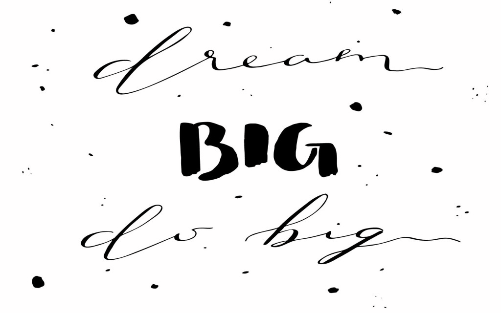 {Free} Desktop & iPhone Wallpapers // Dream Big. Do Big. | thefreewoman.com
