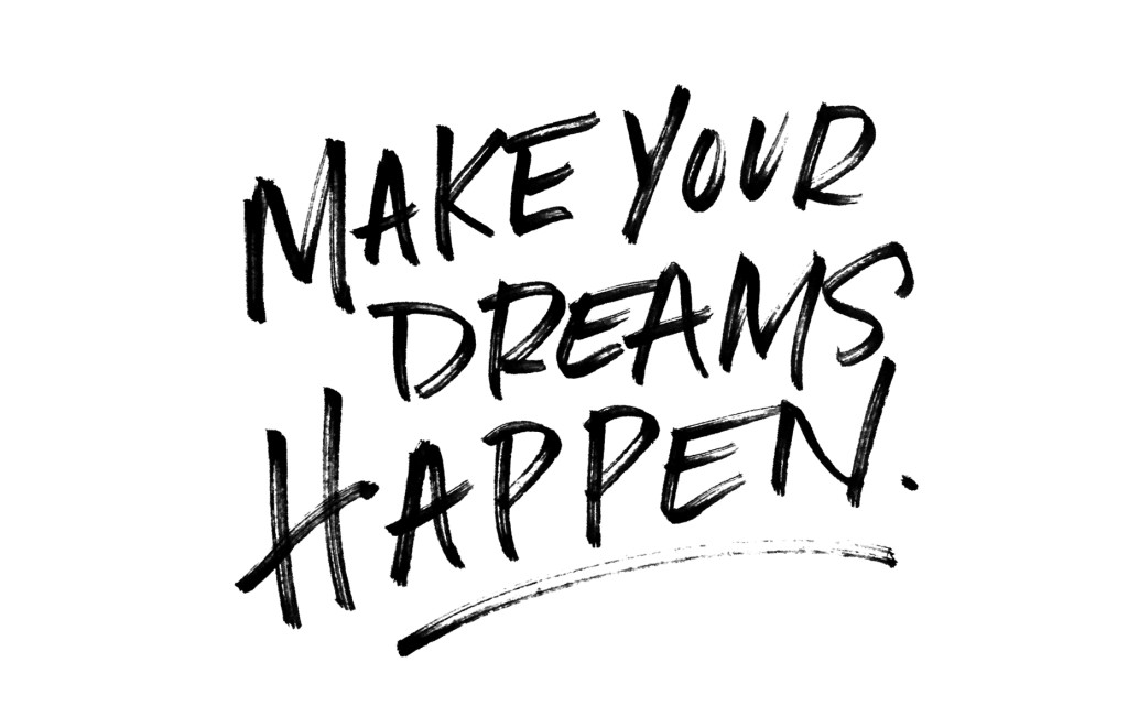 {Free} Desktop & iPhone Wallpapers // Make Your Dreams Happen. | thefreewoman.com