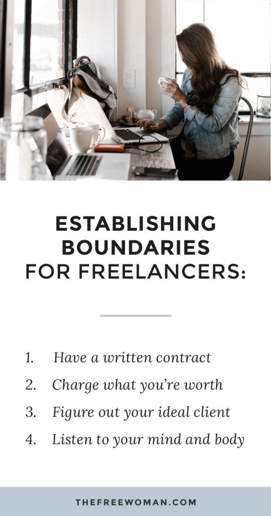 "Establishing Boundaries & The Importance Of ""No"" For Freelancers 